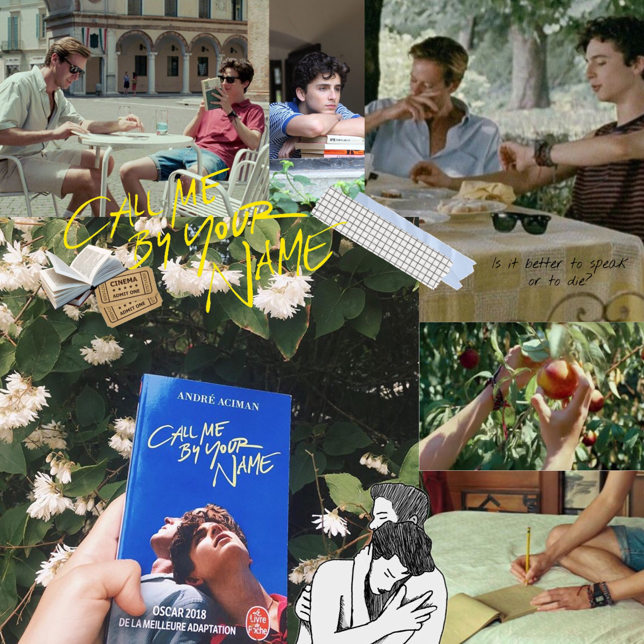 Call me by your name, book-to-movie