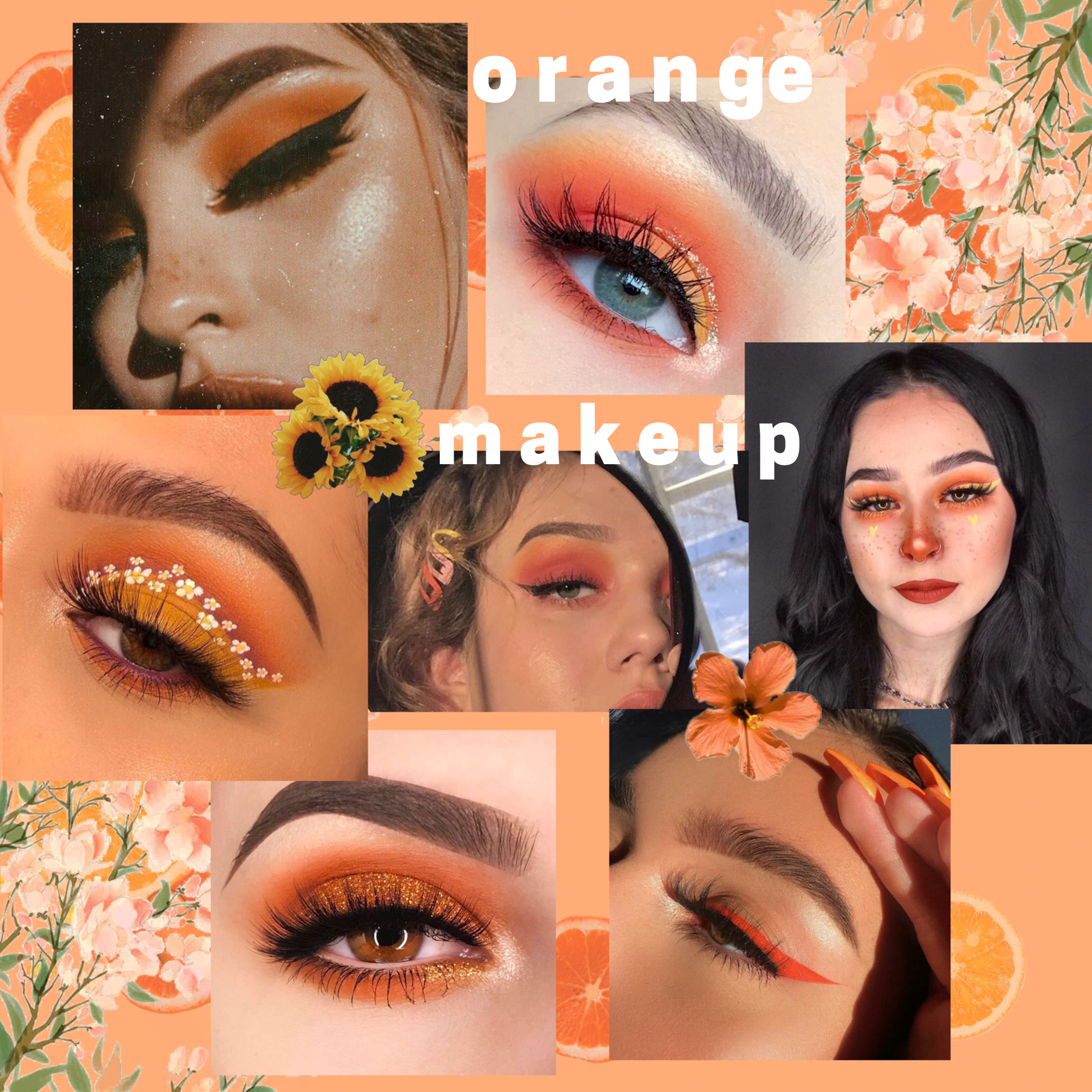 makeup inspo summer edition