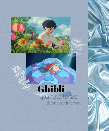SOME GHIBLI TO SEE DURING CONFINEMENT (NO EXCUSES!!)